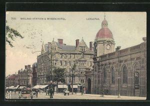 AK Leicester, Midlend Station & Wyvern Hotel