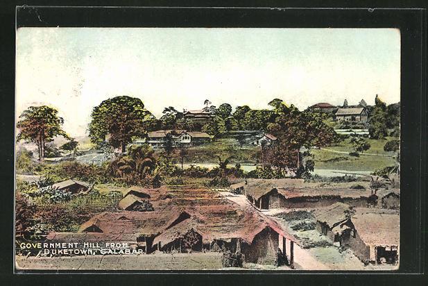 AK Calabar, Government Hill from Duketown