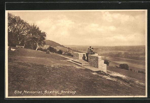 AK Dorking, The Memorial, Boxhill