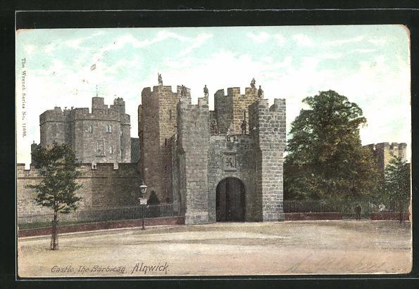 AK Alnwick, Castle, The Barbican