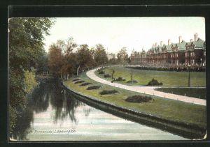 AK Leamington, York Promenade