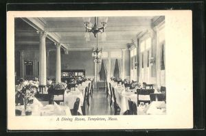 AK Templeton, MA, A Dining Room, Innenansicht