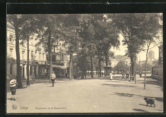 AK Liege, Boulevard de la Sauveniere