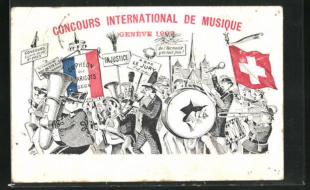 AK Geneve, Concours international de Musique 1909, Sängerfest