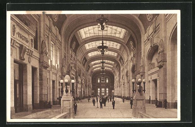 AK Milano, Stazione Centrale, Bahnhof