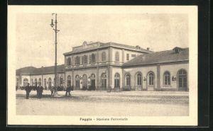 AK Foggia, Stazione Ferroviaria, Bahnhof