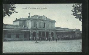 AK Acqui, Stazione della ferrovia