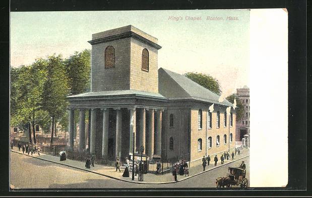 AK Boston, MA, King`s Chapel