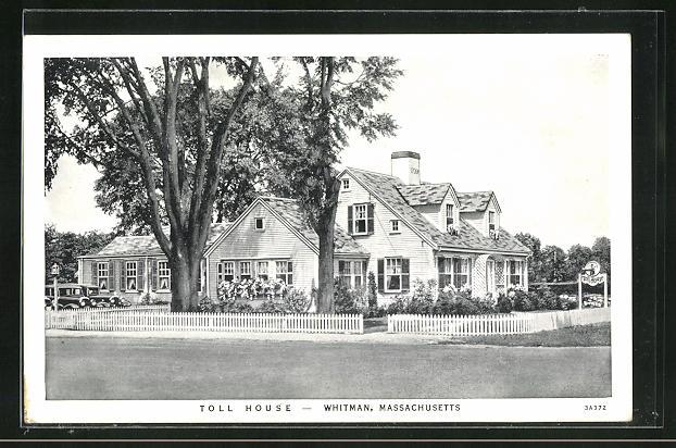 AK Whitmann, MA, Toll house
