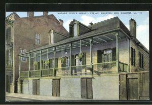 AK New Orleans, LA, Madame John`s legacy, French quarter