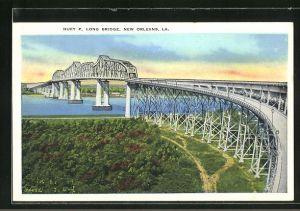 AK New Orleans, LA, Huey P. Long Bridge
