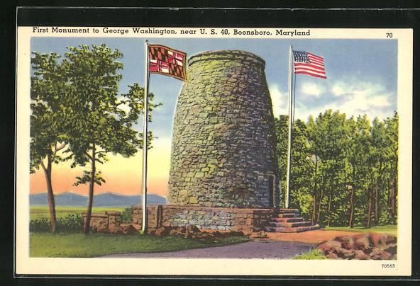 AK Boonsboro, MD, First Monument to George Washington, near U.S. 40