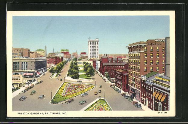 AK Baltimore, MD, Preston Gardens, Ortspartie