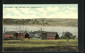 AK New London, CT, Old Navy Yard, General View