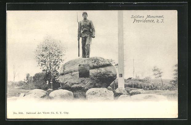 AK Providence, RI, Soldier Monument
