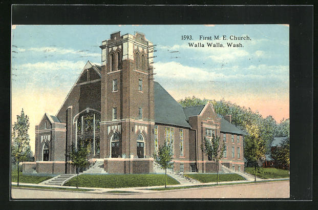 AK Walla Walla, WA, First M. E. Church