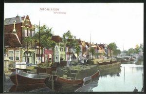 AK Groningen, Blick zum Schuitendiep