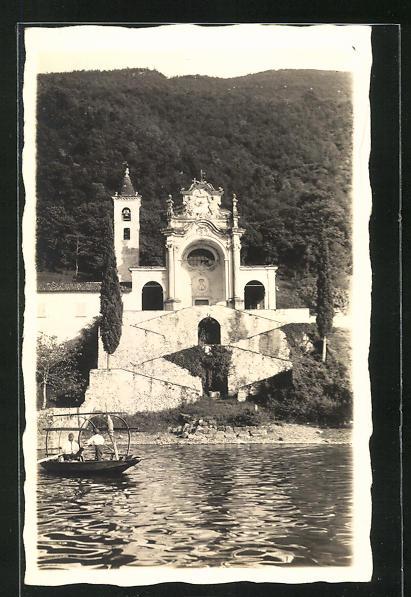 AK Campione, Blick auf die kleine Kapelle