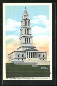 AK Alexandria, VA, The George Washington Masonic National Memorial