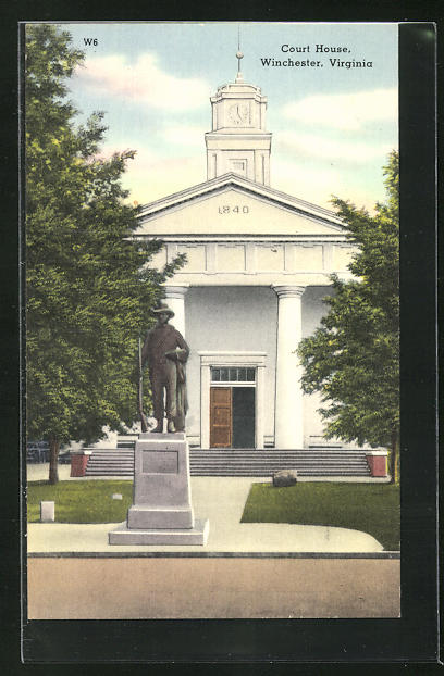 AK Winchester, VA, Court House