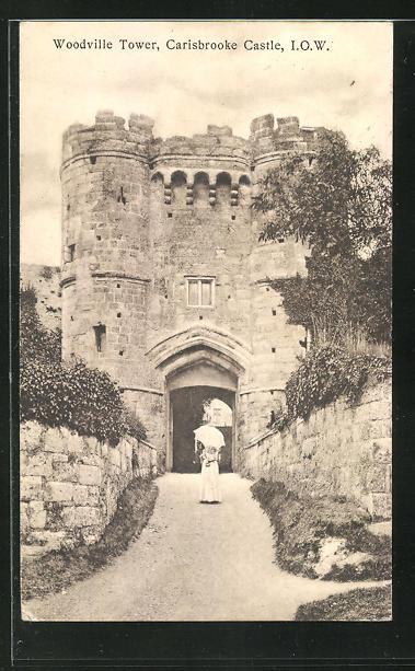 AK Carisbrooke, Eingang zur Burg