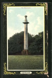 AK Ashridge, The Monument