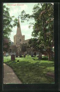 AK Stevenage, Church and Cemetery, Kirche und Friedhof
