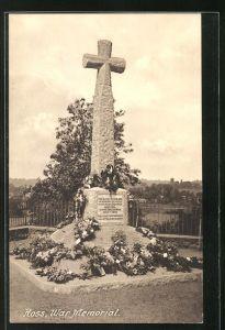AK Ross, War Memorial