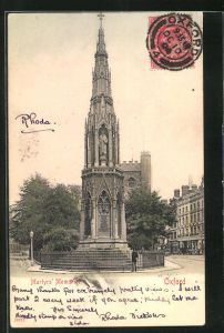 AK Oxford, Martyr`s Memorial