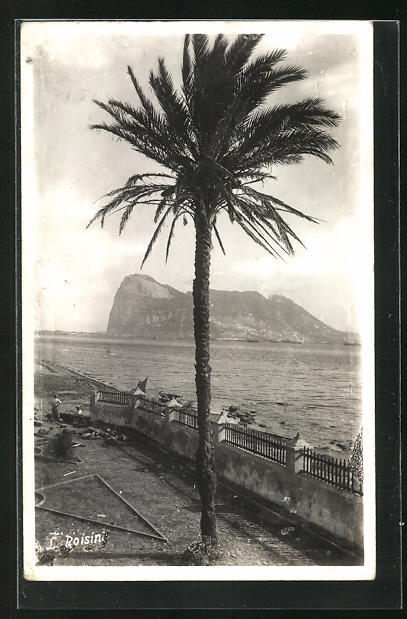 AK Gibraltar, View of the Rock from Spanish Shores