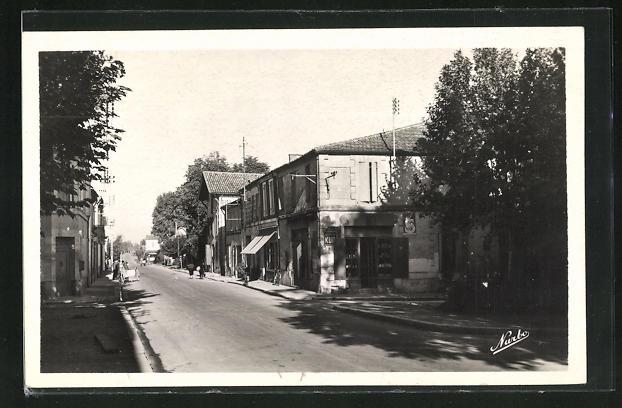 AK Miramont de Guyenne, L`Avenue de la Gare