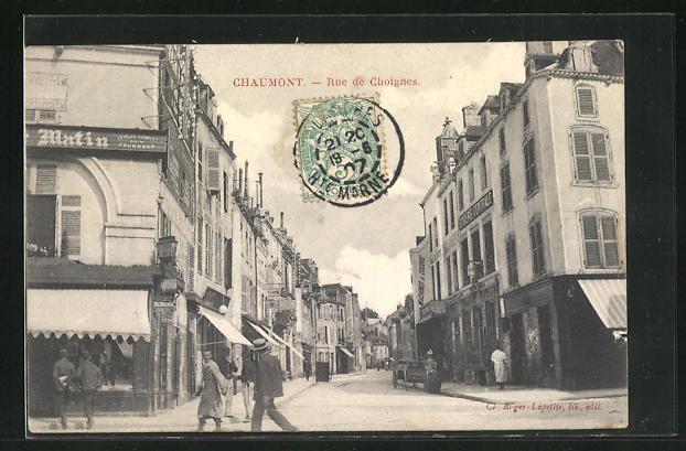 AK Chaumont, Rue de Choignes
