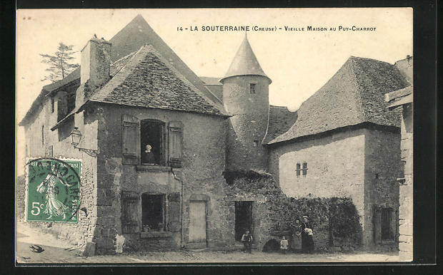 AK La Souterraine, Vieille Maison au Puy-Charrot