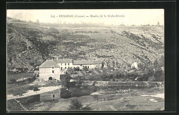 AK Busseau, Moulin de la Roche-Etroite