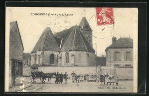 AK Ecrosnes, L` Église