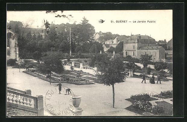 AK Gueret, Le Jardin Public