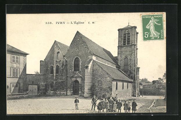 AK Ivry, l'Eglise