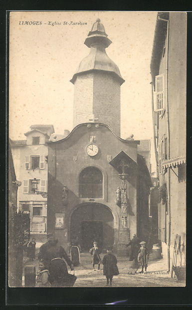 AK Limoges, Eglise St-Aurélien