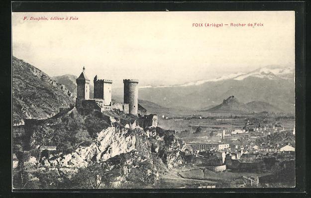 AK Foix, Rocher de Foix