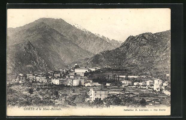 AK Corte, Panorama et le Mont-Rotondo