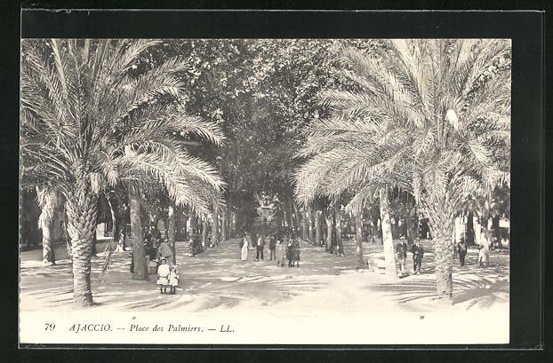 AK Ajaccio, Place des Palmiers