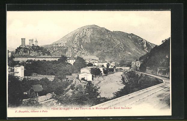 AK Foix, Les Tours et la Montagne du Saint Sauveur