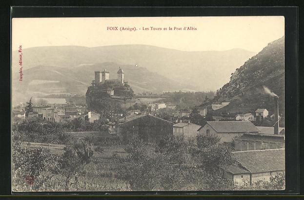 AK Foix, Les Tours et le Prat d`Albis