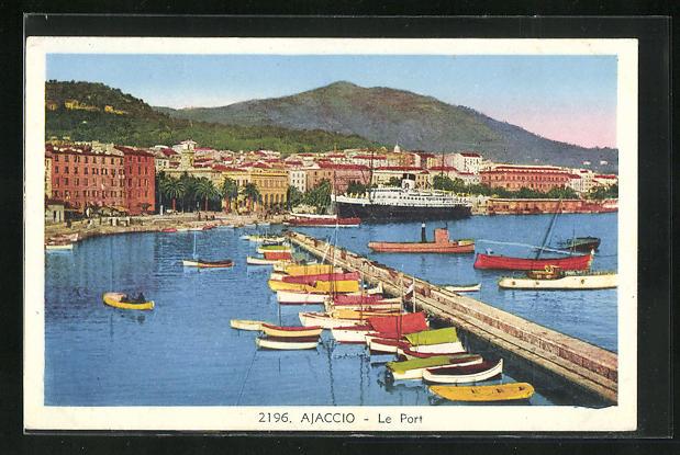 AK Ajaccio, Vue sur le Port