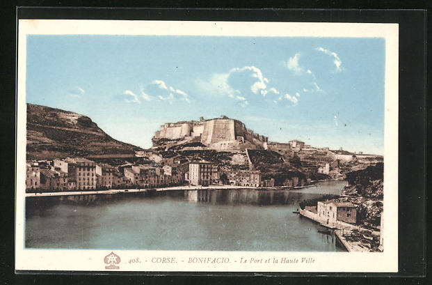 AK Bonifacio, Le Port et la Haute Ville