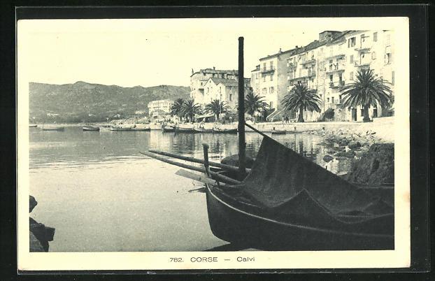 AK Calvi, Partie am Hafen