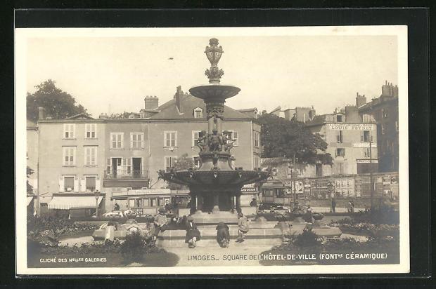 AK Limoges, Square de l`Hotel-de-Ville