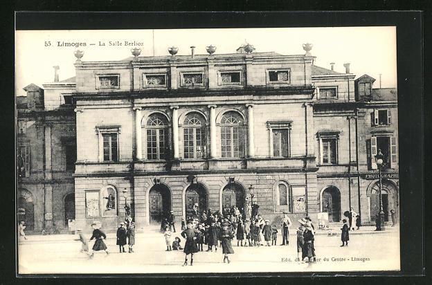 AK Limoges, La Salle Berlioz