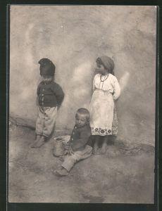 Fotografie Sinti-Roma, Ziegeuner-Kinder