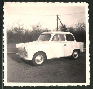Fotografie Auto Sachsenring Trabant 600 Trabbi